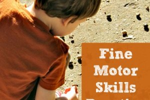 5 ideas for Fall Fine Motor Fun!