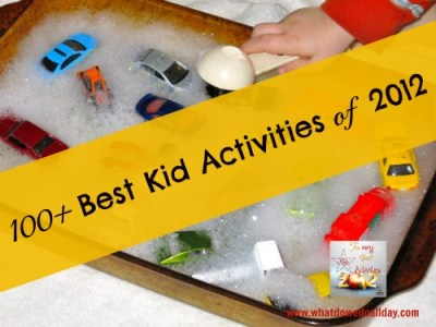 Best Kid Activities of the year