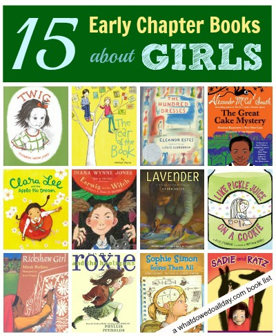 List of Early Chapter Books about Girls