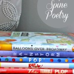 Easy Poetry Activity for Kids: Spine Poems