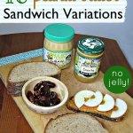 10 Peanut Butter Sandwich Ideas