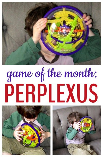Kids love Perplexus and have an amazing amount of patience for this challenging maze game.
