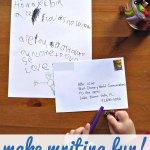 Handwriting Practice for Kids :: Make Writing Fun