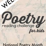 Poetry Challenge for Kids {Week 2}
