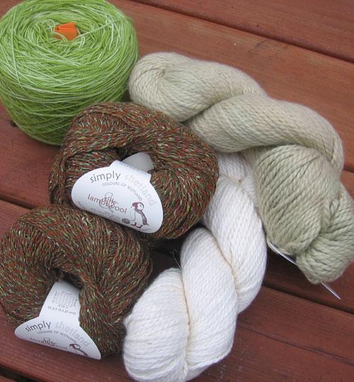 Prize yarn, Pangea KAL
