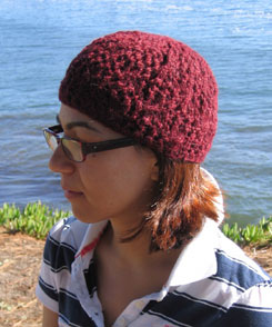 The Santa Cruz hat in DK weight
