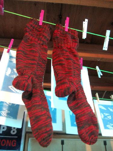 Socks and prints