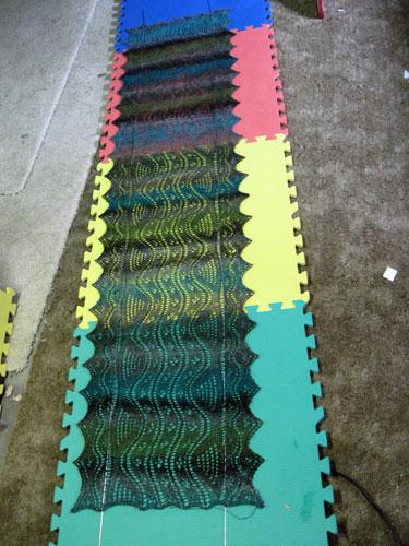 Nice wavy shawl