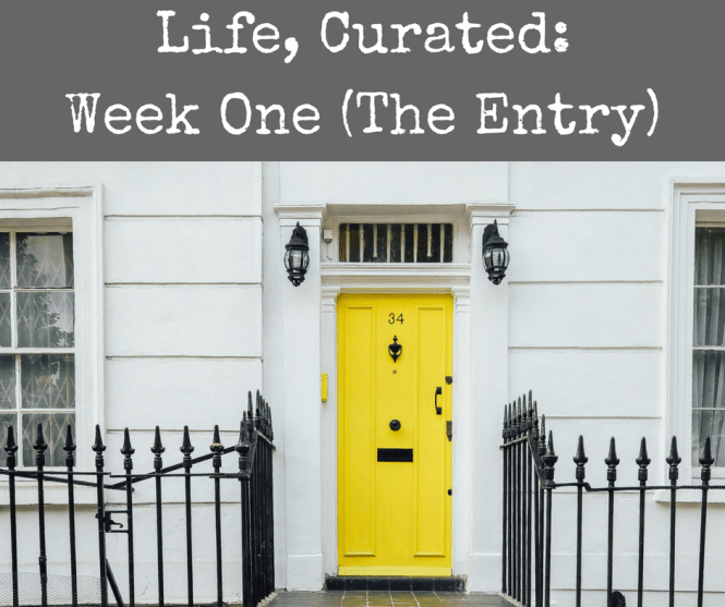 life-curated-week-one-the-entry