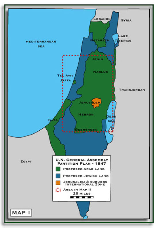 Republic Broadcasting Network ISRAEL PALESTINE THE MAPS TELL - Map of palestine