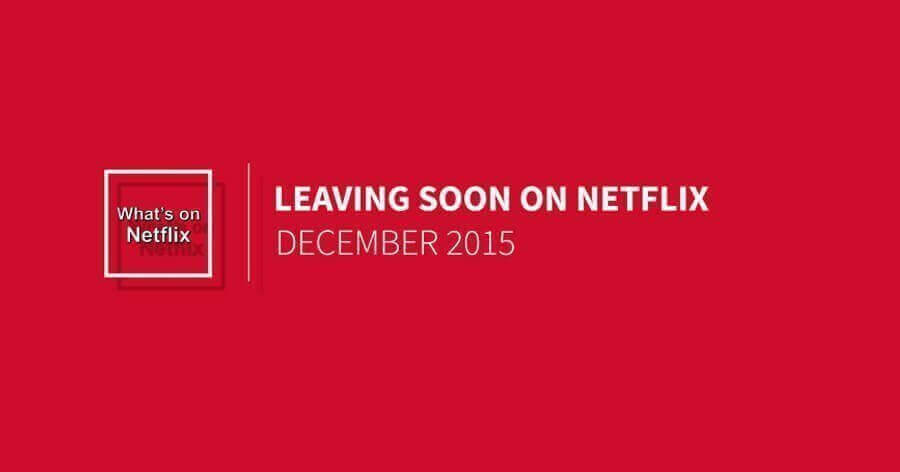 15 Movies Leaving Netflix in November advise