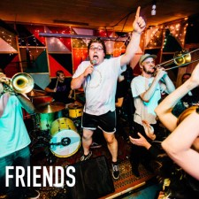 Just Friends live review web
