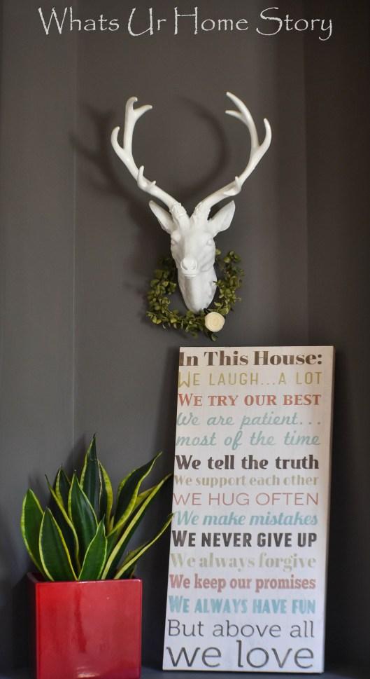 Deer Head Nook