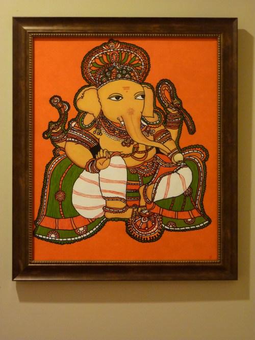 how to make Kerala mural painting