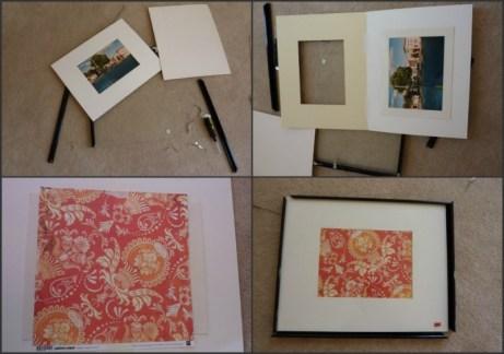 how to change art inside a frame