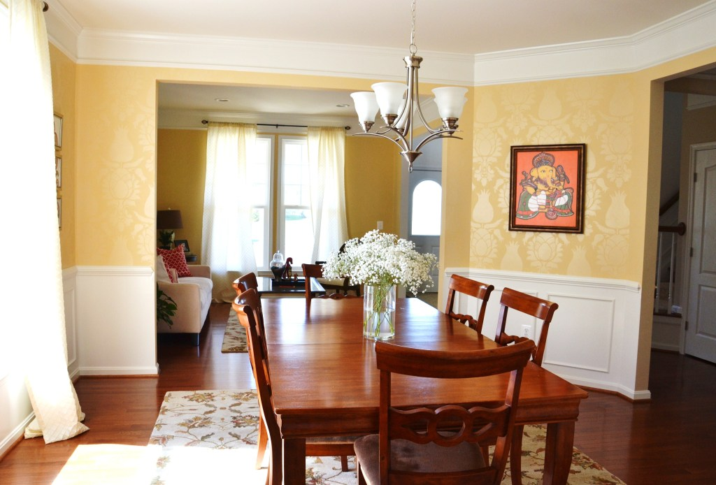 Whats Ur Home Story: dining room after, Sherwin Williams August Moon