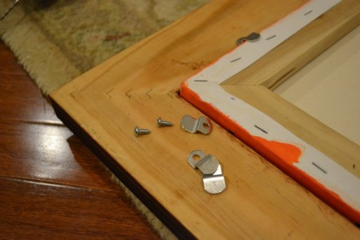 canvas offset clips frame a canvas painting