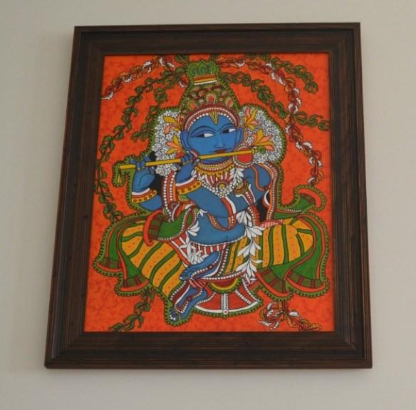 krishna kerala mural painting