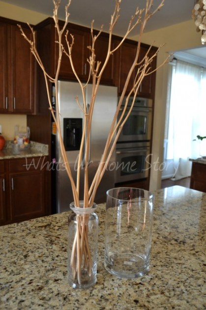 Whats Ur Home Story : How to create a double vase arrangement