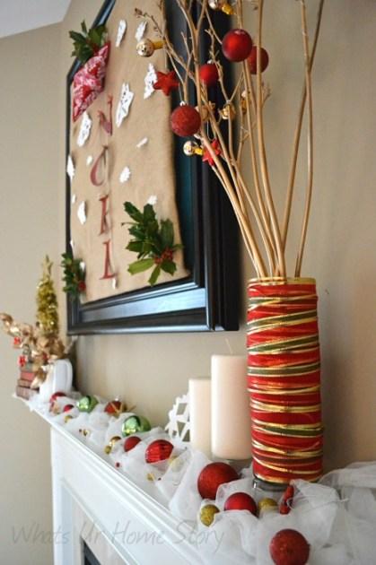 Whats Ur Home Story: Easy Christmas Decor,Christmas Mantel