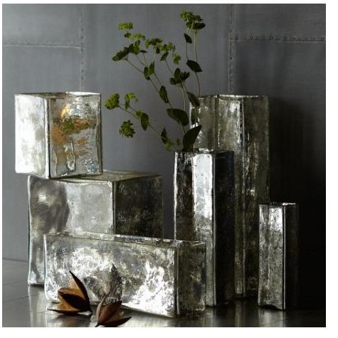 mercury glass vase, hostess gifts for under $20
