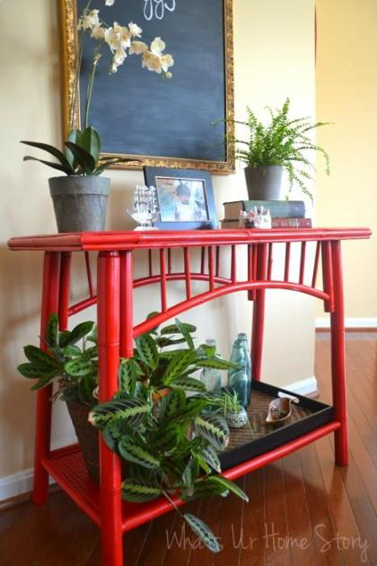 Painting Bamboo Furniture