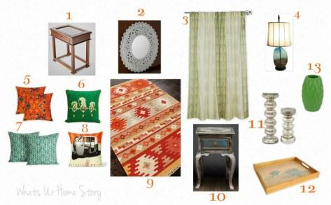 Mood Board   Indian Living Room
