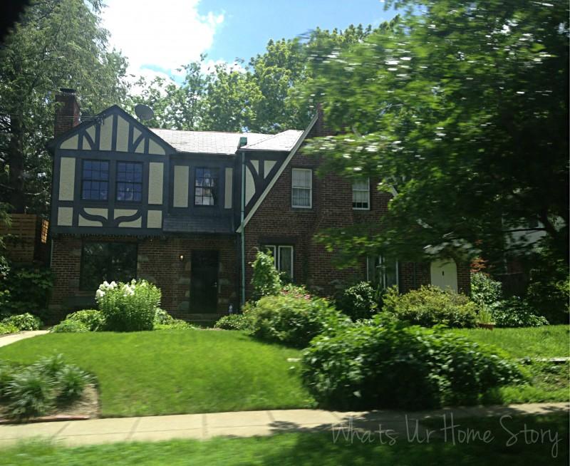 Whats Ur Home Story: Tudor home