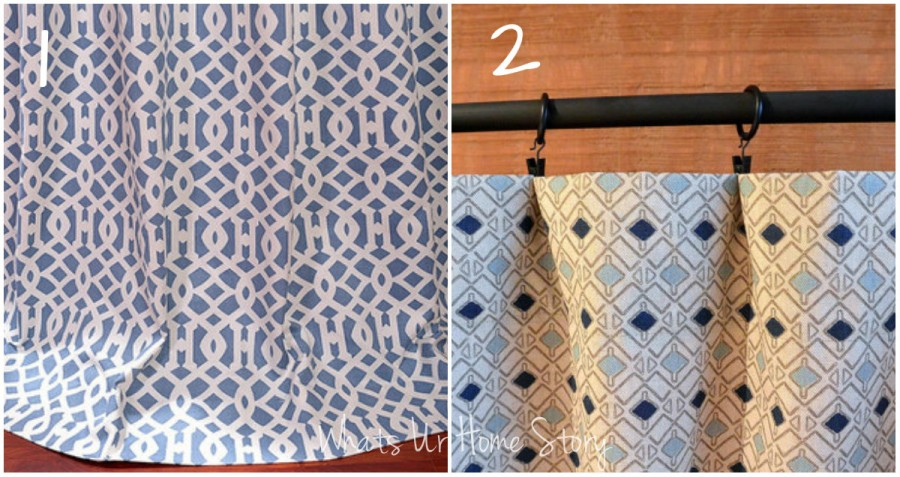 geometric curtains