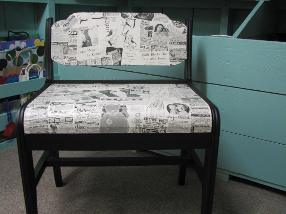 Reader Showcase   Mod Podge Bench
