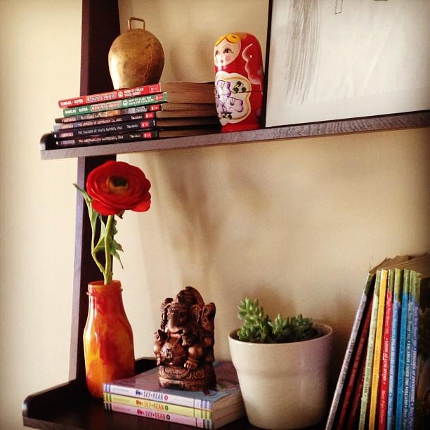 Whats Ur Home Story: Ladder Shelf