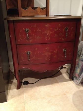 vintage dresser, craigslist treasures