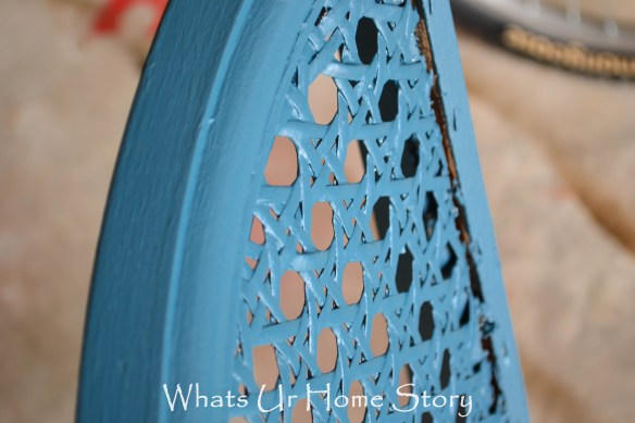 cane chair makeover 3