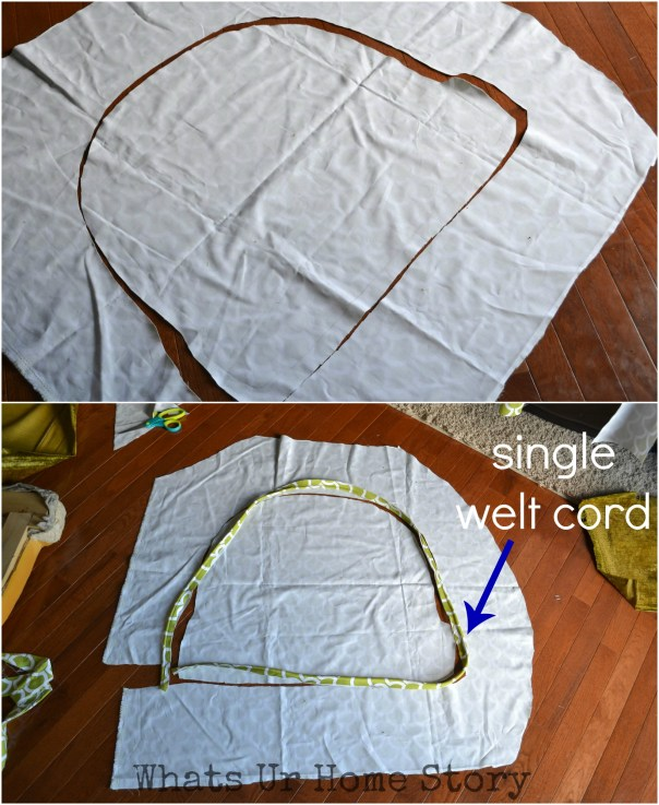 how to sew a seat cushion
