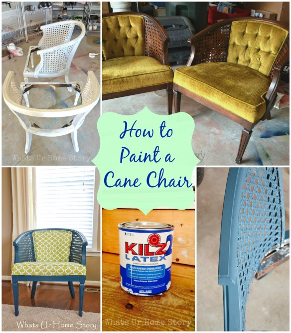 Tutorial on How to paint a chair with regular paint
