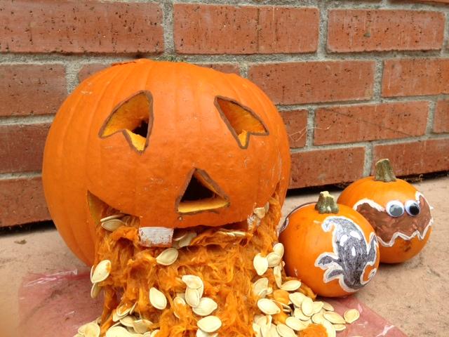 Pumpkin Decorating