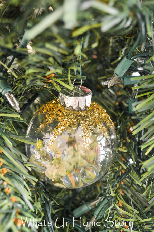5 minute DIY Ornament with Marbles - DIY Marbles Ornament