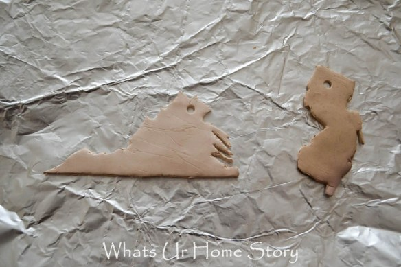 Clay state ornament tutorial