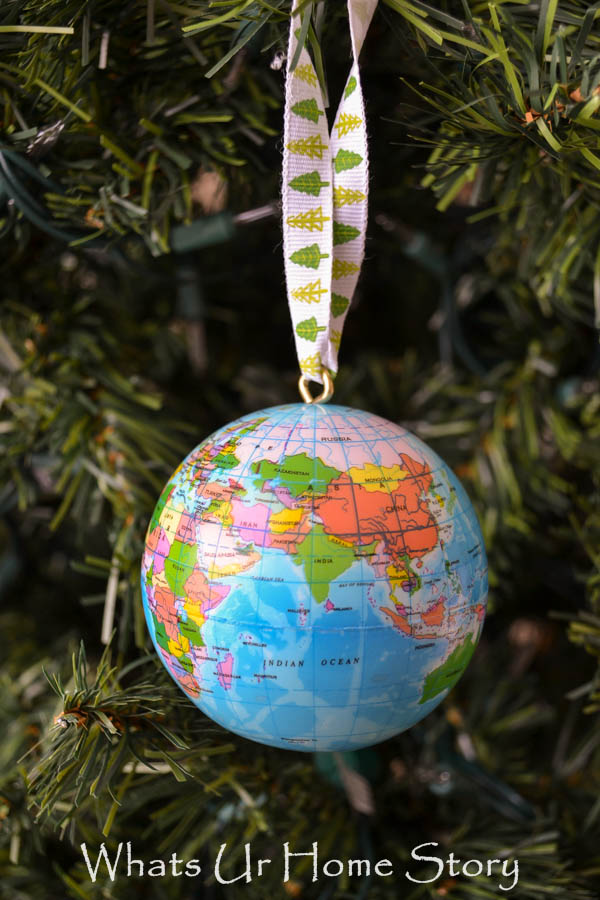 How to make a globe ornament