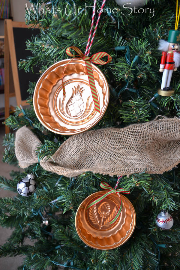 Make ornaments out of old Jello molds