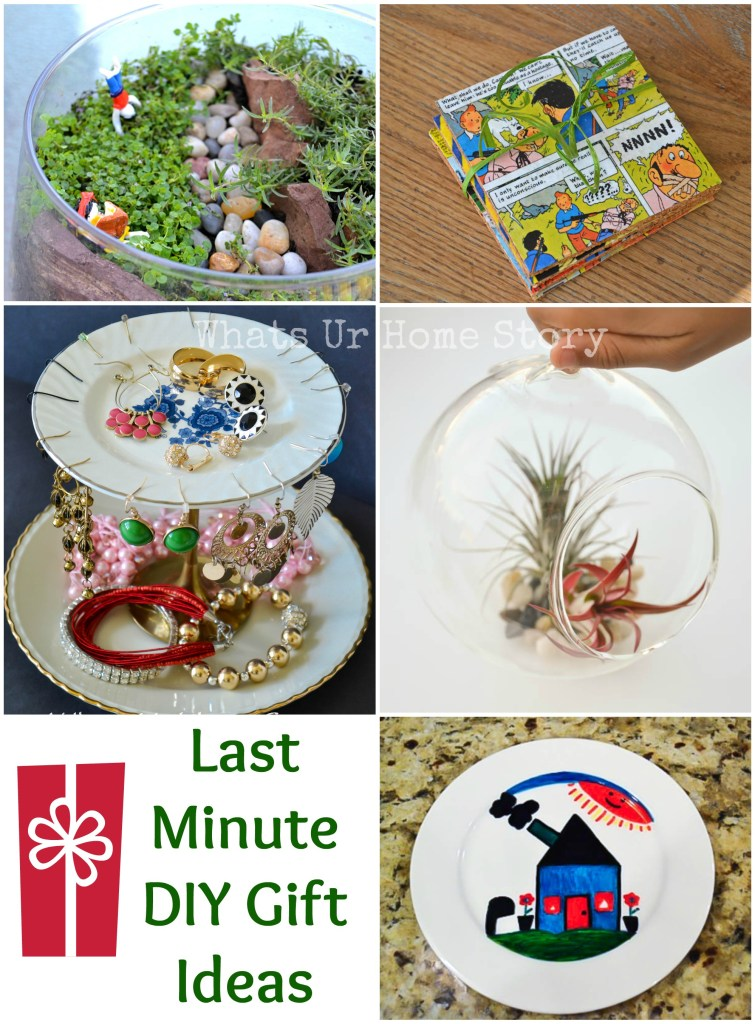 Last Minute DIY Gift Ideas