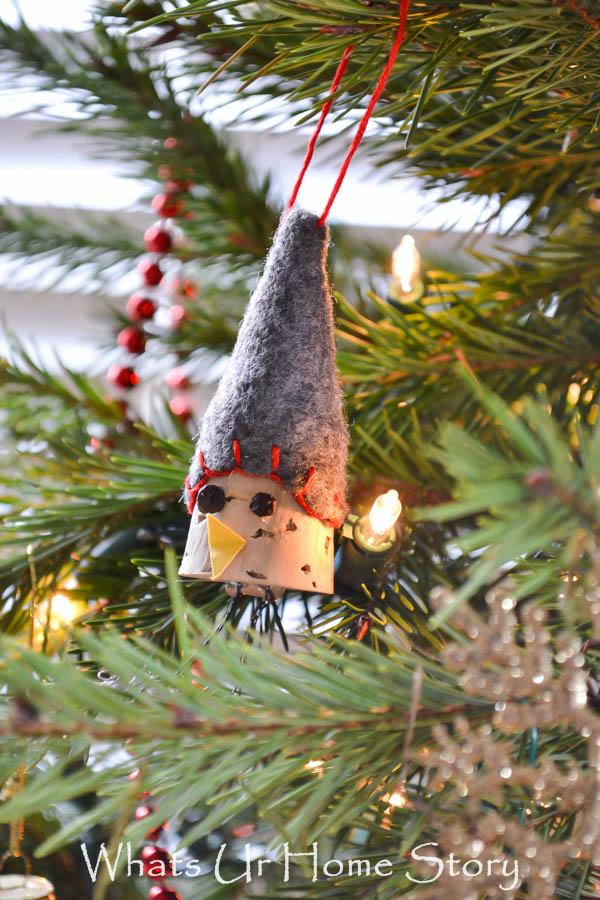cork bird ornament