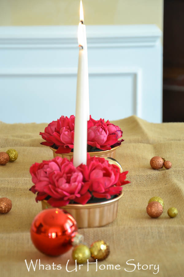 holiday centerpieces tutorial