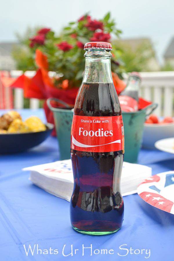 """custom-ordered """"Share-a-Coke"""" bottles"""