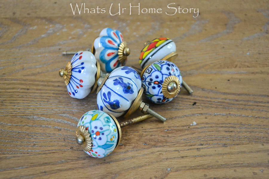 patterned knobs