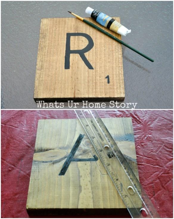 Scrabble Tiles the easy way!