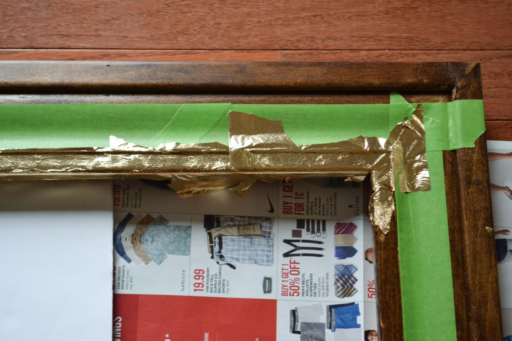 How to Apply Gold Foil or Gold Leaf