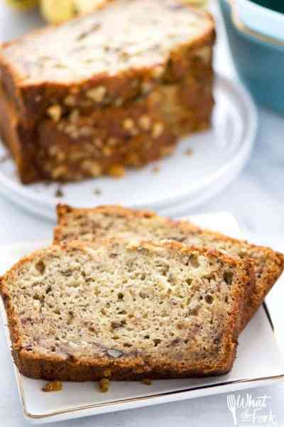 The Best Gluten Free Banana Bread - What the Fork