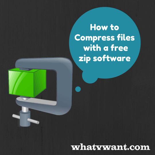 Free - Do you want to Compress files with best free zip and unzip software? Compress-files1