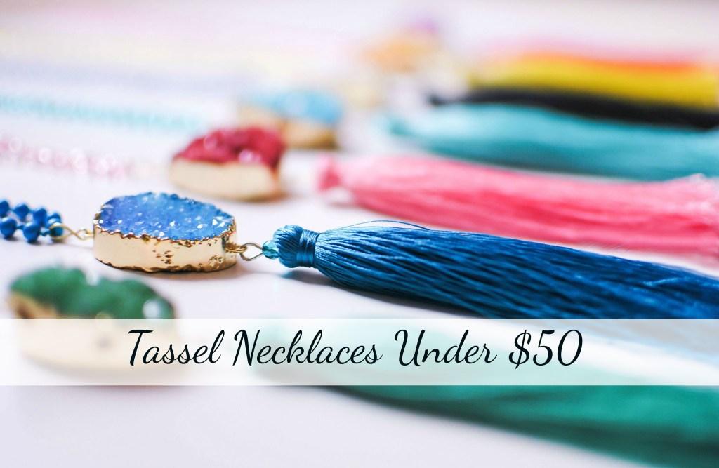 V-Wear-Collection_Druzy-Tassel-Necklaces_Spring-Must-Have-2016